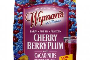 Cherry Berry Plum With Cacao Nibs