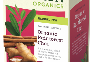 Organic Rainforest Chai Herbal Tea