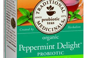 Organic Peppermint Delight Probiotic Herbal Tea