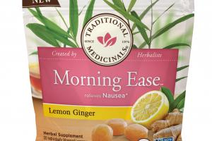Morning Ease Relieves Nausea Herbal Supplement