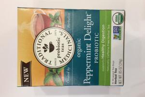 Peppermint Delight Probiotic Herbal Tea
