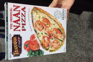 The Original Naan Pizza