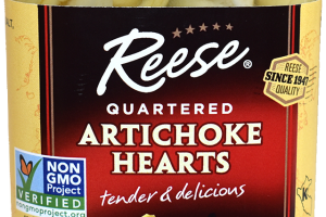 Quartered Artichoke Hearts