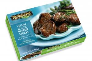 Vegan Black Pepper Steaks