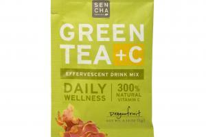 Green Tea +c Effervescent Drink Mix