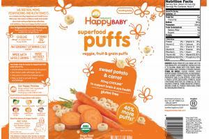 Veggie, Fruit & Grain Puffs