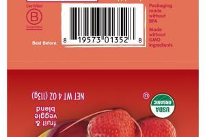 Organic Fruit & Veggie Blend