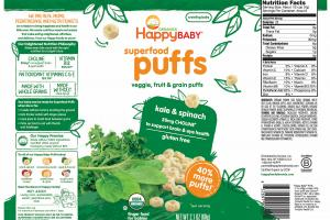 Superfood Puffs Veggie, Fruit & Grain Puffs