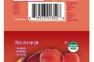 Organic Fruit Veggie Blend