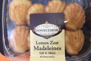 Lemon Zest Madeleines