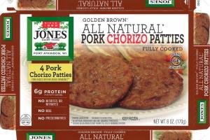 Pork Chorizo Patties