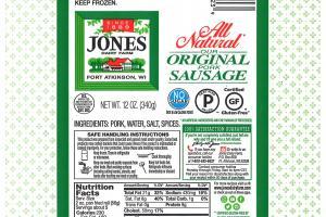 Original Pork Sausage