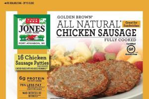 Chicken Sausage Patties