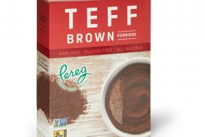 Teff Brown Porridge