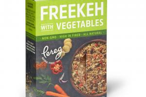 Freekeh With Vegetables