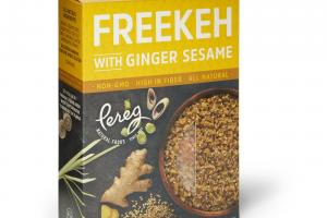 Freekeh With Ginger Sesame