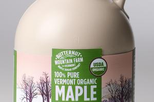 Vermont Organic Maple Syrup
