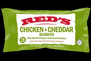 Chicken & Cheddar Burrito