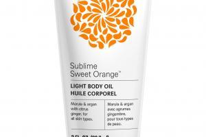 Light Body Oil, Sublime Sweet Orange
