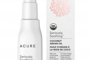 Seriously Soothing Coconut Argan Oil