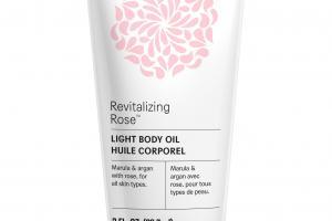 Light Body Oil, Revitalizing Rose