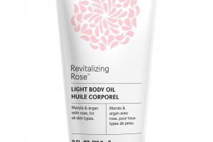 Light Body Oil, Revitalizing Rose