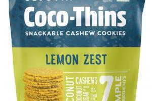 Snackable Cashew Cookies