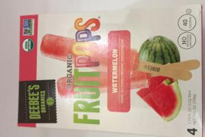 Organic Fruit Pops