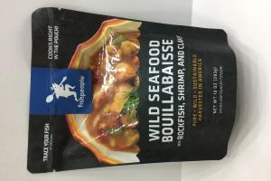 Wild Seafood Bouillabaisse With Rockfish, Shrimp, And Clams