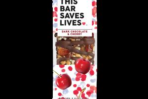 Dark Chocolate & Cherry Bar