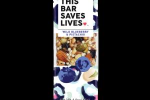 Wild Blueberry & Pistachio Bar