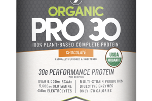 Pro 30 100% Plant-based Protein* Powder