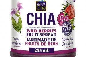 Chia Fruit Spread