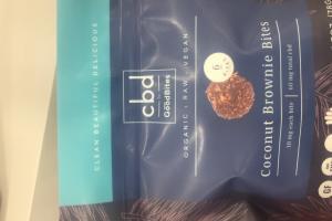 Coconut Brownie Bites