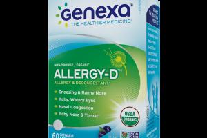 Homeopathic Allergy-d Medicine, Organic Acai Berry