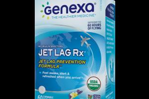 Jet Lag Rx Chewable Tablets, Vanilla Lavender