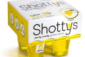 Party-ready Gelatin Shots, Lemon
