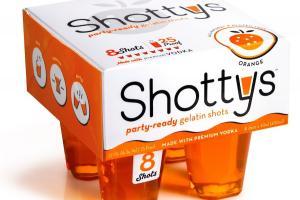 Orange Party-ready Gelatin Shots