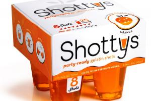 Orange Party-ready Gelatin Shots