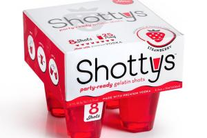 Party-ready Gelatin Shots, Strawberry
