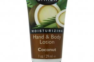 Moisturizing Hand & Body Lotion, Coconut
