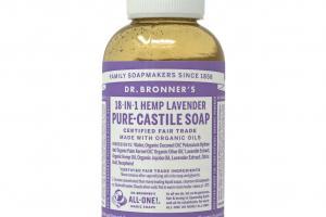 18-in-1 Pure-castile Soap, Hemp Lavender