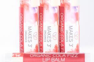 Organic Cola Fizz Lip Balm