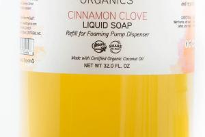 Cinnamon Clove Liquid Soap