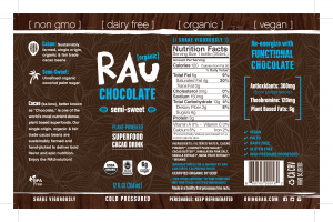 Organic Superfood Cacao Drink