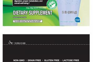 Flavorless Dietary Supplement
