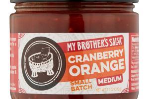 Cranberry Orange Salsa