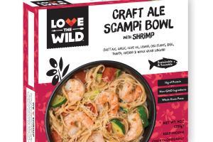 Craft Ale Scampi Bowl With Shrimp