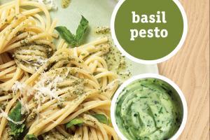 Basil Pesto Seasoned Butter