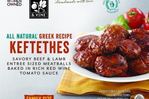 Greek Recipe Keftethes